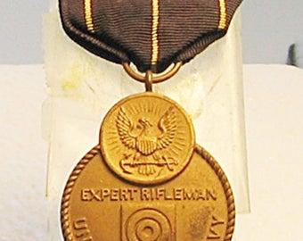 1st Type U.S. Navy Expert Rifleman Medal