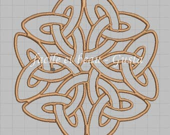 "Embroidery file ""Celtic great knot"""