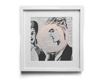 Come Find Me - Square Art Print