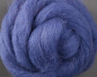Corriedale Wool Roving- Blue berry pie-013