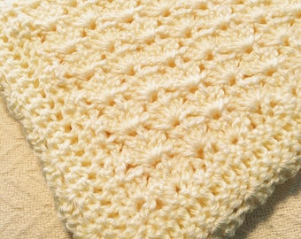 Cozy Lemon Yellow Baby Blanket