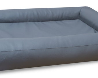 Dog bed DogLife completely made of artificial leather size L, XL