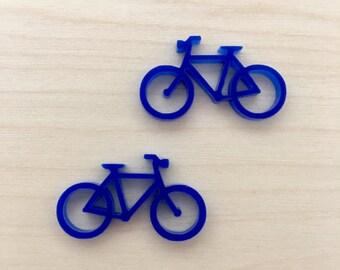 Bicycle 2 - Small Stud/Dangle Pair