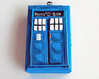Doctor Who TARDIS Themed Jewelry Box