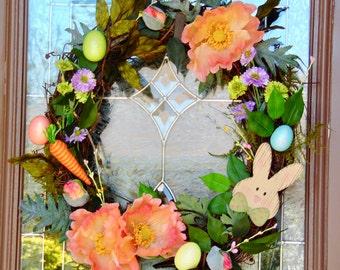 Woodland Easter Wreath