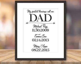 Fathers Day Gift from Daughter Father's Day Gift from Son Fathers Day from Daughter Fathers Day from Son Gift for Dad Gift Dad Birthday Gift