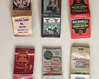 Vintage Matchbooks Lot #1