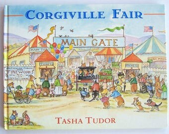 Corgiville Fair by Tasha Tudor - Children's Book