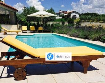 "Chaise Cushion, 190x60x5cm (75""x23.5""x2""),Outdoor fabrics, Many Colours Available"