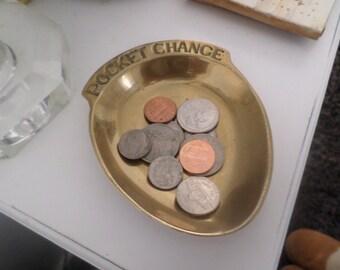 Vintage Pocket Change Coin Holder