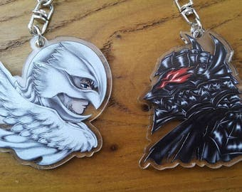 Berserk Griffith & Guts Charms