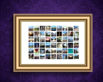 Custom Edited Photo Collage Poster (A1/A2/A3/B1)