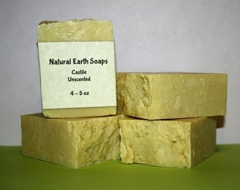 FREE SHIPPING Castile, Unscented