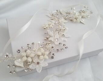 Wedding Hair Vine, Silver Bridal Head Piece, Gold Bridal Hair Accessory, Hair Vine, Bridal Accessories