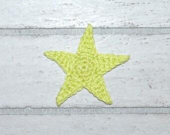 1 star big - application - crochet - star