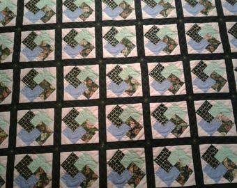 Card trick quilt