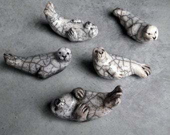 Raku ceramic seals