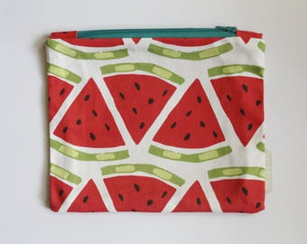 Watermelon Zipper Pouch