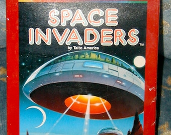 Space Invaders Atari 2600 video game cartridge new old stock sealed package