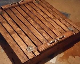 Custom-Built Sandbox