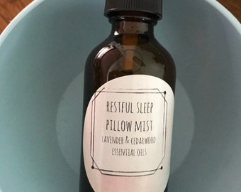 Restful Sleep Pillow Mist