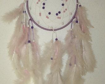 Dream catcher/Dreamcatcher medium purple - pink - white