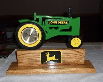 JD Model A, unstyled, Homemade Wood Clock