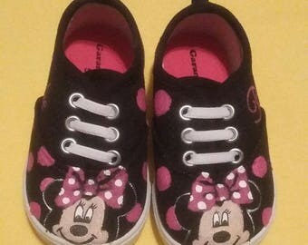 MInnie Mouse canvas painted shoes