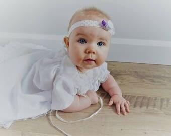 Headband - Headband baby - baptism - accessory photo
