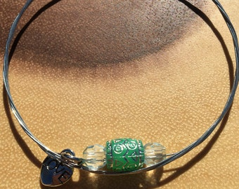One of a kind Guitar String Bracelet...SALE:  10.00