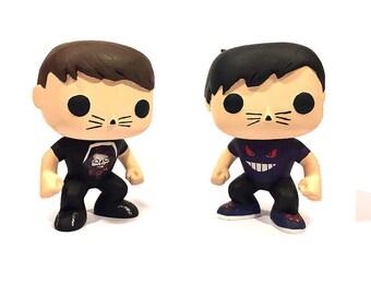 Dan and Phil funko pop figures