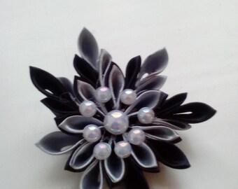 Flower brooch, Kanzashi flower brooch/