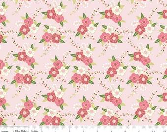 SALE!!---Wonderland Floral Pink Cotton by Riley Blake