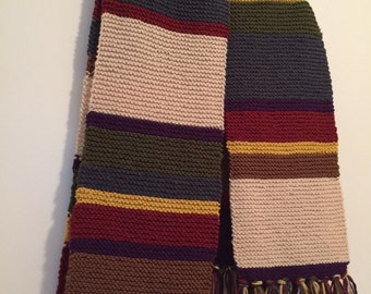 Doctor Who Inspired Scarf
