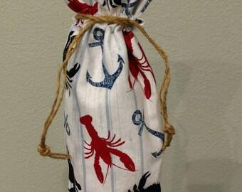 Wine gift bag/ wine bag/ gift bag