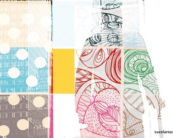 New York, Manhattan, Union Square, mural, photo, painting, pattern, 2 designs