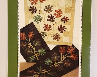 The Old Oak Tree quilted table runner/wall hanging patterns