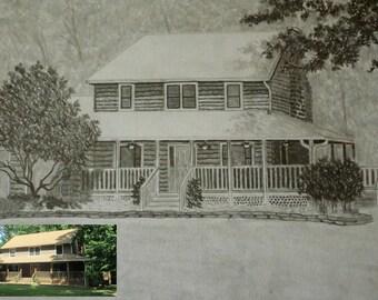 Original Custom House Portraits