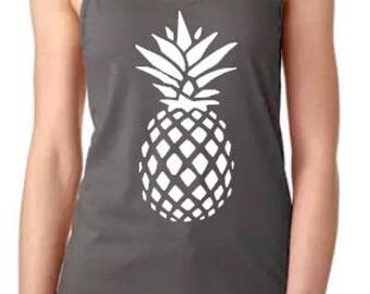 Pineapple Tanks Womans grey