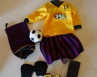 American Girl Soccer Outfit (Soccer Set, Retired!)
