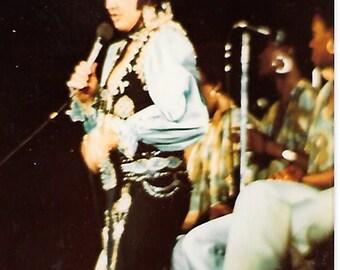 Rare Elvis original photo 1976 over 40 years old snapshot kodak !!!
