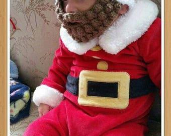 Santa Baby withBeard Hat