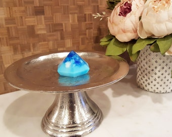 Stone Blue Diamond Soap