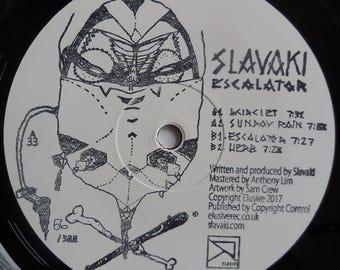 "Slavaki - Escalator EP, 12"" vinyl"