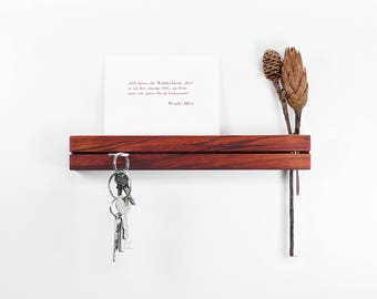 Key bar Padouk with flower vase key board