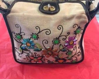 "Enid Collins ""Jewel Garden"" purse"