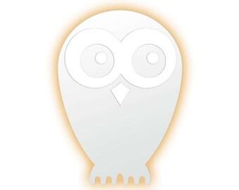 lmpara de pared owl lmpara led para habitacin infantil lmparas con forma de animales