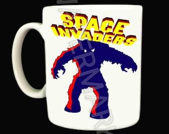 Space Invaders Mug .. Mugs