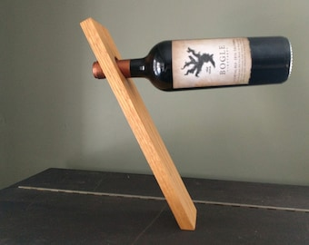 Wine Bottle Stand - Gravity Defying