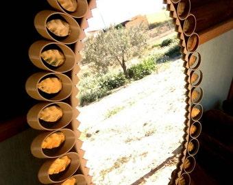 Golden leaves Havana mirror